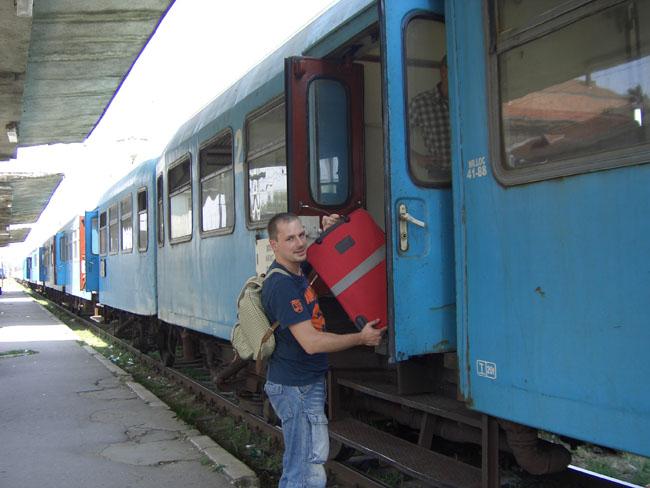 Regionalzug Rumänien