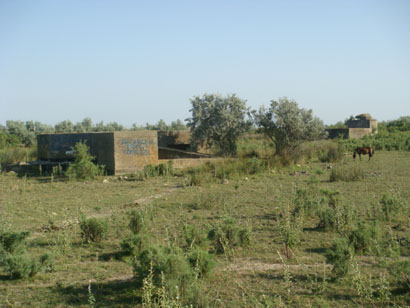 Bunker Sfantu Gheorghe im Donaudelta - Rumänien