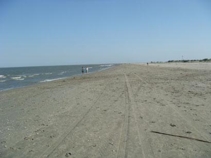 Strand in Sf. Gheorghe im Donaudelta - Rumänien