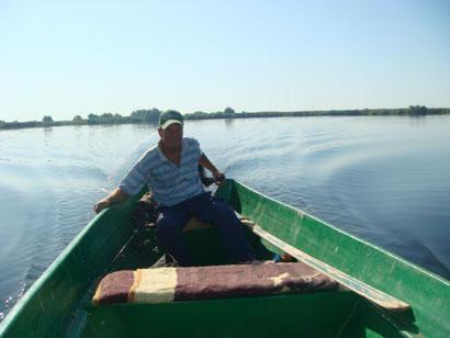 Donaudelta - Rumänien - Unser Bootsführer