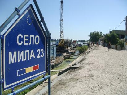 Mila 23 im Donaudelta - Rumänien
