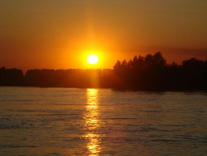 Sonnenuntergang Donaudelta - Rumänien