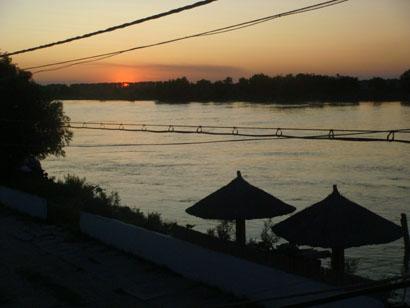 Sonnenuntergang - Crisan - Donaudelta - Rumänien