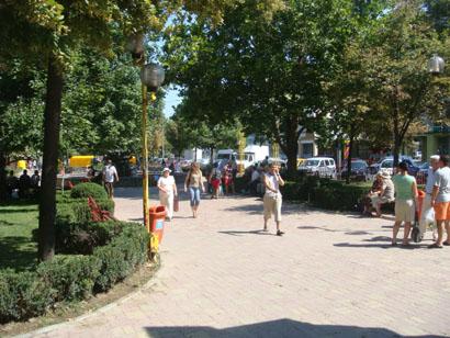 Park in Tulcea - Donaudelta - Rumänien