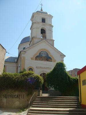 Kirche Sf. Gheroghe in Tulcea - Donaudelta - Rumänien