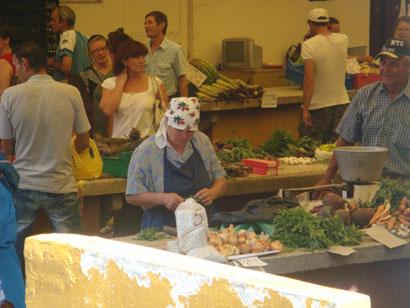 Markt Nähe Str. Isaccei in Tulcea - Donaudelta - Rumänien