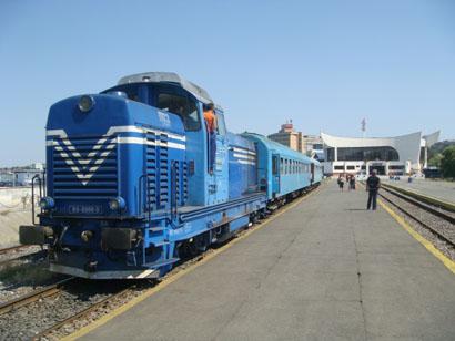 Bahnhof Tulcea - Rumänien - Donaudelta