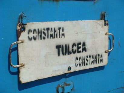 Zug Tulcea - Constanta, Rumänien
