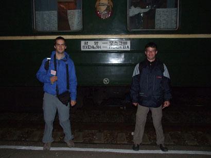 Zug Nr. 2 - Moskau - Pjöngjang Bild: Helmut Uttenthaler