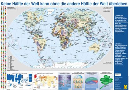 Kostenlose Weltkarte Vom Ministerium Anders Reisen