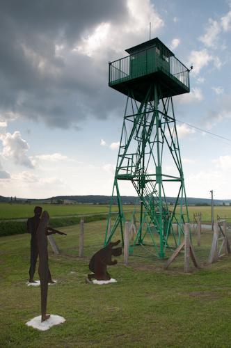 Bild: Ungarischer Wachturm am Grenzerlebnisweg in Bildein