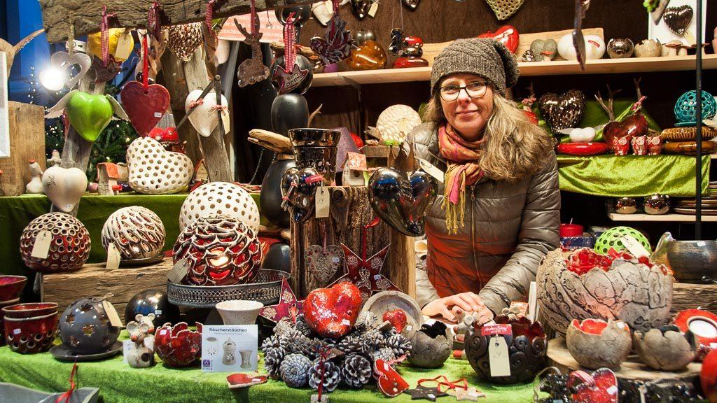 Stern Advent - Keramikhütte