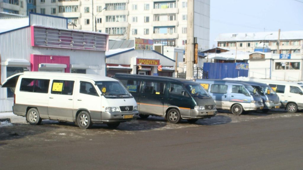 Marschrutki in Irkutsk