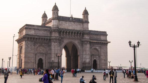 Silvester in Indien: Mumbai
