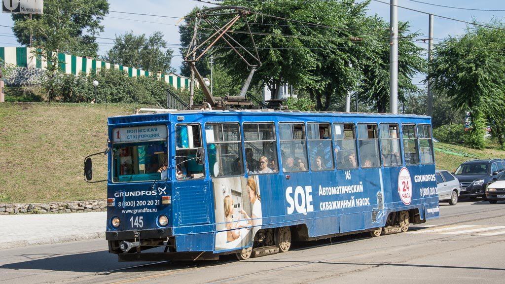 Straßenbahn Irkutsk