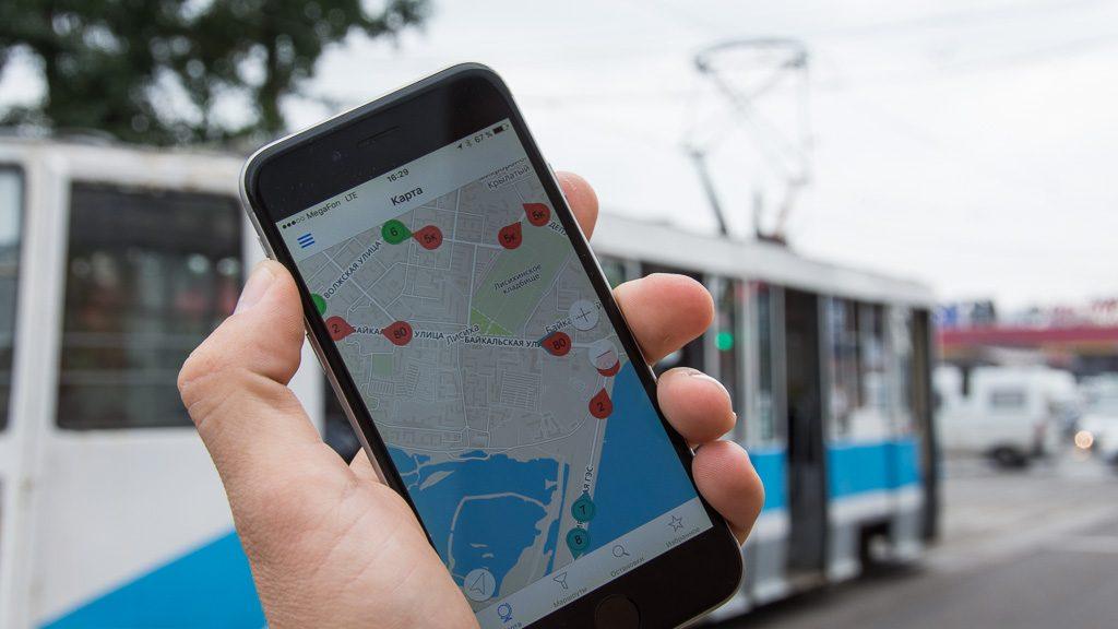 Transport App für Öffentliche Verkehrsmittel in Russland
