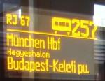 Unterwegs im ÖBB Railjet München - Wien - Budapest