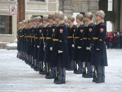 Wachablöse in der Prager Burg