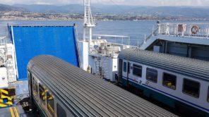Die neue Brücke zwischen Sizilien und dem Festland soll die Fähre ersetzen.
