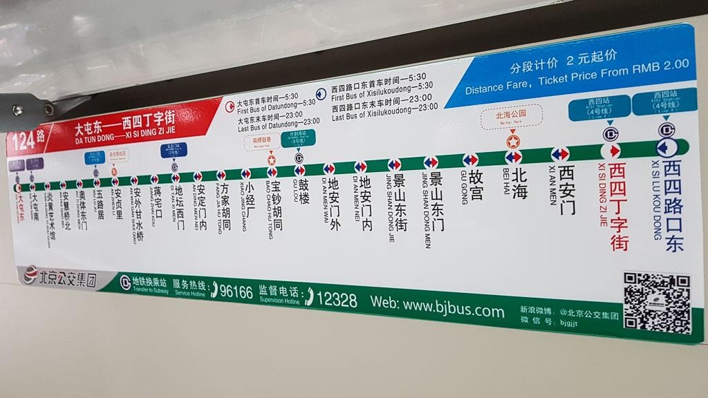 Bahn Haltestelleninformation