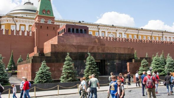 Top Sehenswürdigkeiten in Moskau: Lenin Mausoleum