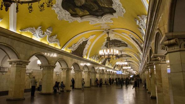 Top Sehenswürdigkeiten in Moskau: Metro Moskau