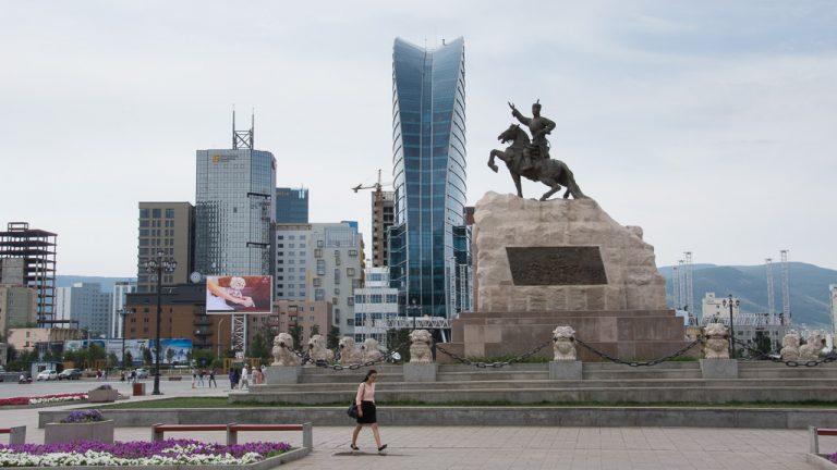 Hauptstadt von mongolei