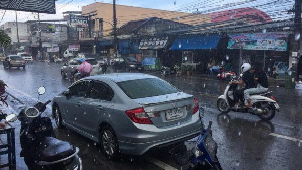 Alleine reisen: Flexibel bei Schlechtwetter