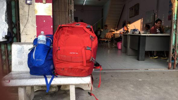 Gepäck alleine reisen