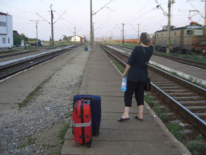 Wenig Information: Wann kommt der verspätete Zug?