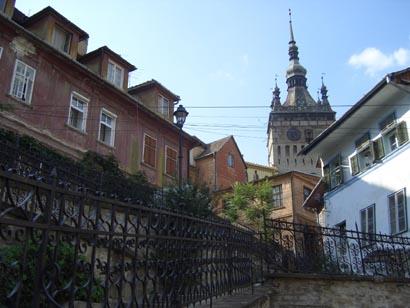 Der Stundturm in Sighişoara/Schässburg - Rumänien