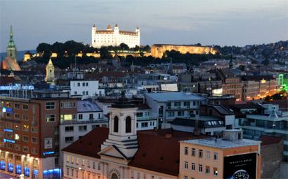 Sehenswürdigkeiten Bratislava: Burg Bratislava