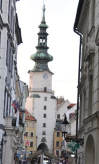 Sehenswürdigkeiten Bratislava: Michaelertor