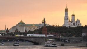 Abendstimmung an der Moskwa - Moskau