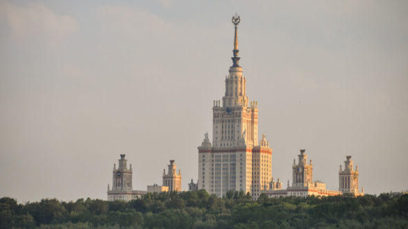 Moskau Schiff Sightseeing Tour