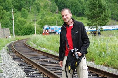 Gerhard Liebenberger & Circum-Baikal-Bahn - Bild: Widmer
