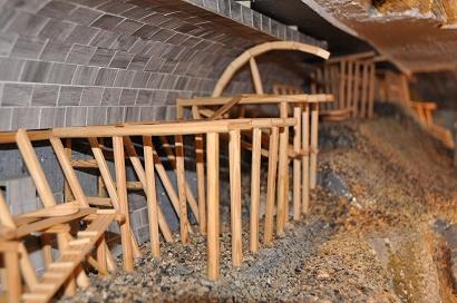 Museum in Port Baikal: Tunnelbau auf der Circum-Baikal-Bahn
