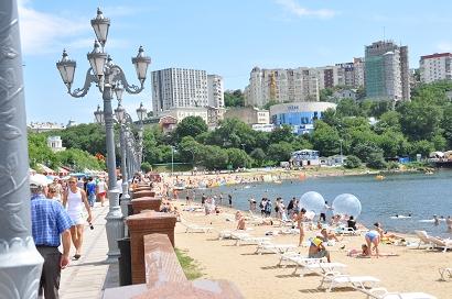 Strandpromenade von Wladiwostok