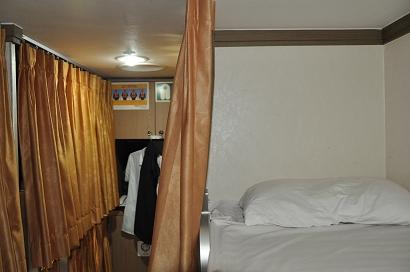 """8-Bett-Kabine auf der DBS-Fähre """"Eastern Dream"""""""