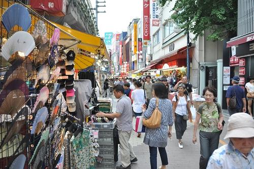 Einkaufsstraße Nähe JR Bahnhof Ueno - Tokio