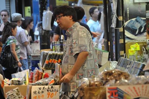 Markt Nähe JR Bahnhof Ueno - Tokio