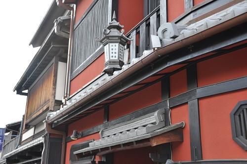 Holzhäuser im Stadtteil Gion