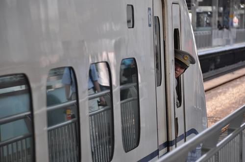 Shinkansen - Schaffner