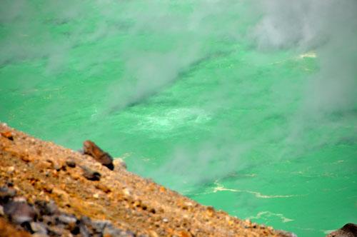 Mt. Aso - Nakadake - blubbernder See