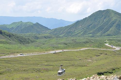 Umgebung des Mt. Aso