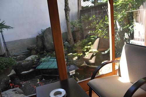 Loggia im Ryokan