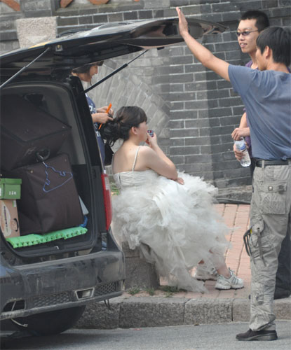 Schminken für das Hochzeitsphoto - Qingdao - China