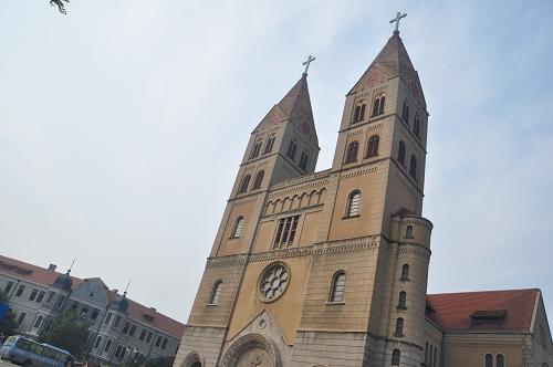 St. Michaels Kirche in Qingdao - China