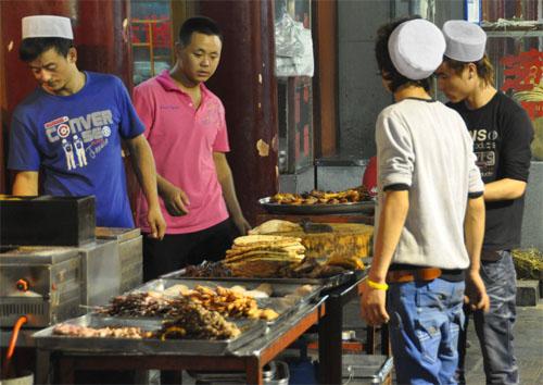 Muslimisches Viertel in Xi'an