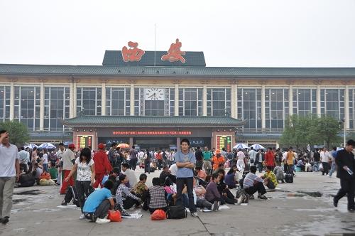 Bahnhof Xi'an - China